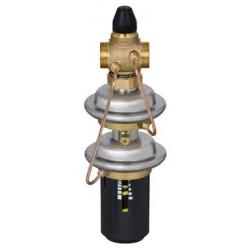 Регулятор перепада давления с автоматическим ограничением расхода AVPQ